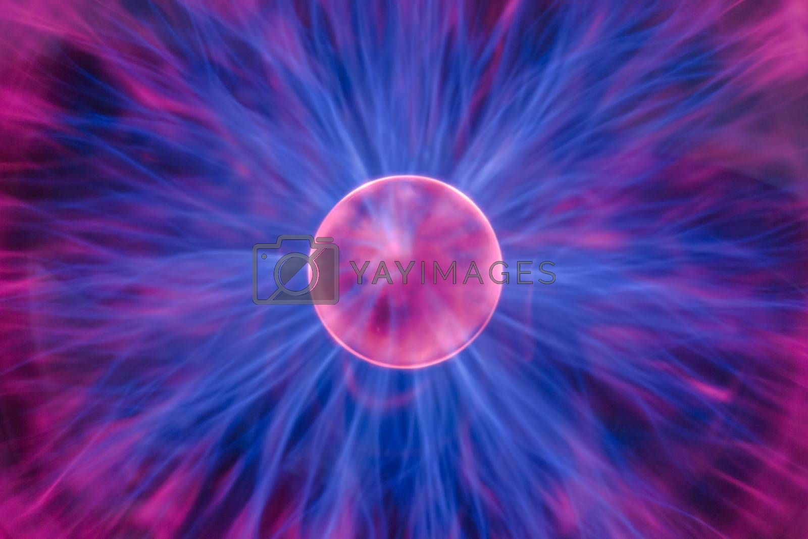Plasma ball by Robert Boss
