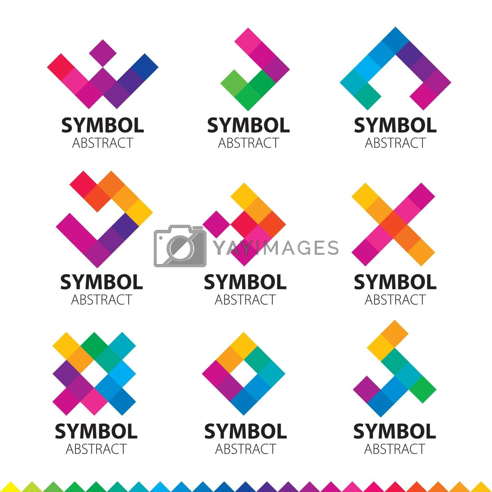 biggest collection of vector logos of abstract modules