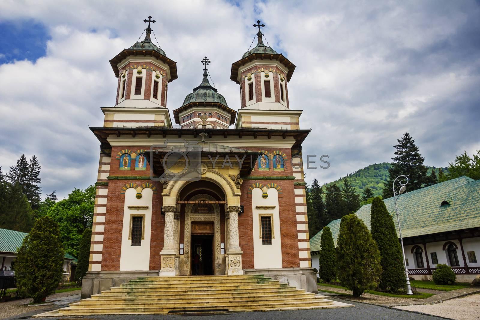Romanian Sinaia monastery, Sinaia - Romania by maggee