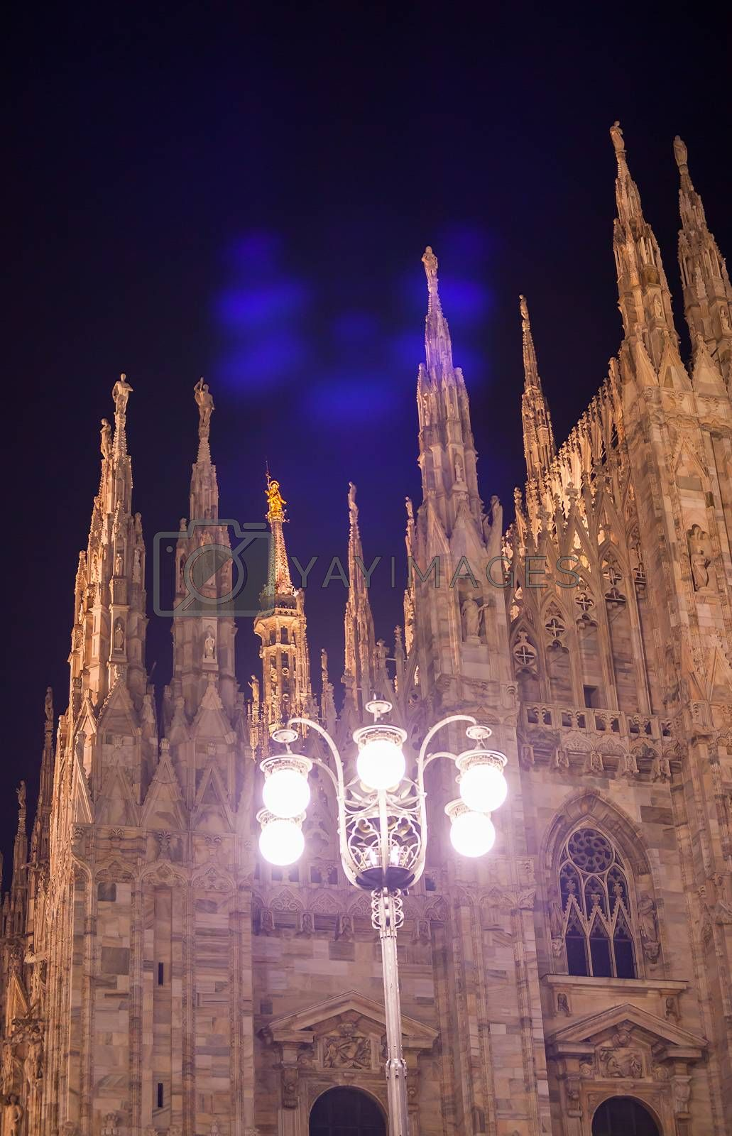 Milan cathedral by bepsimage