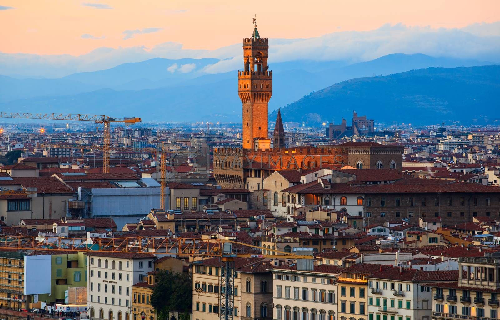 View of Florence - Firenze. Italy