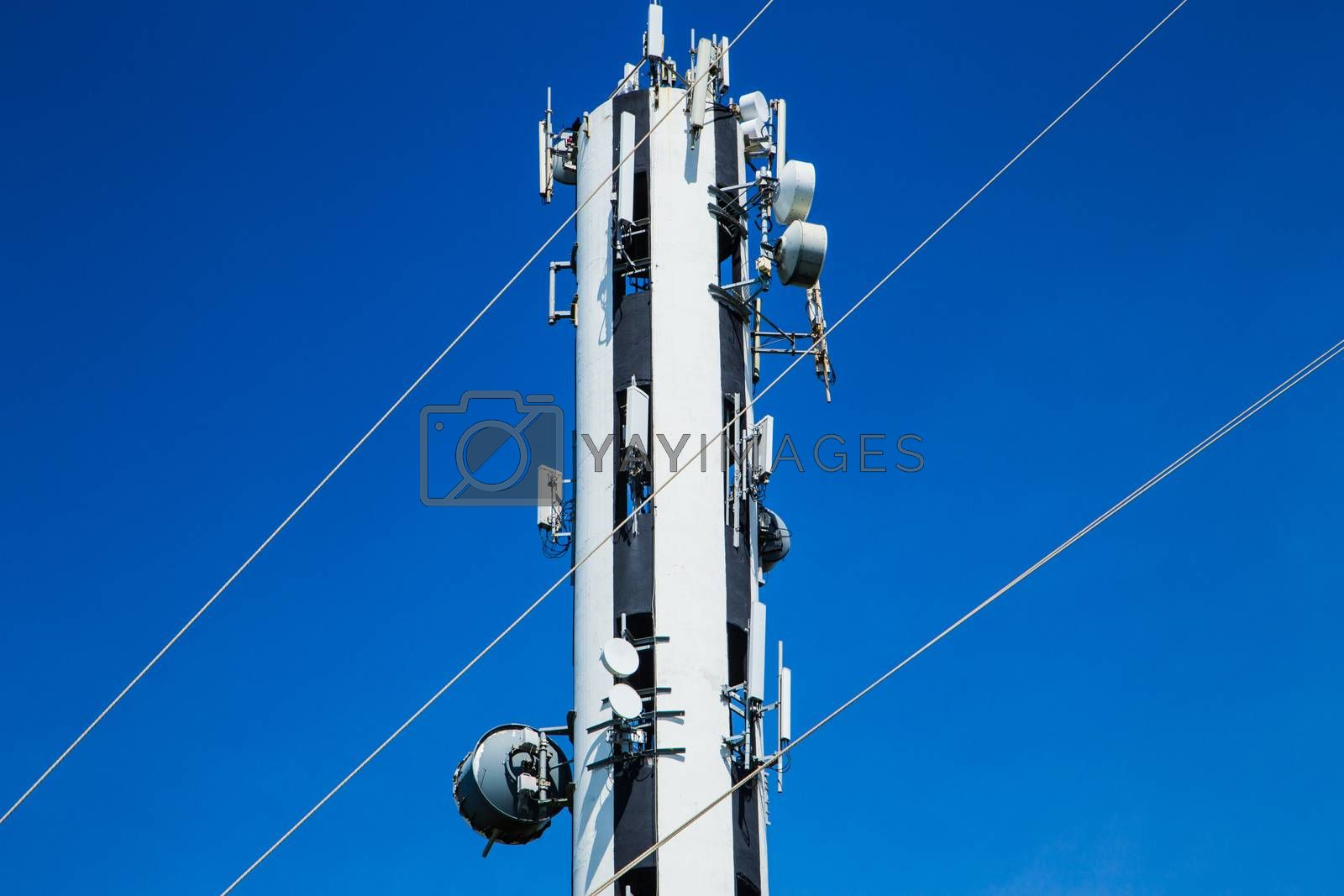 Antenna Communication and wire