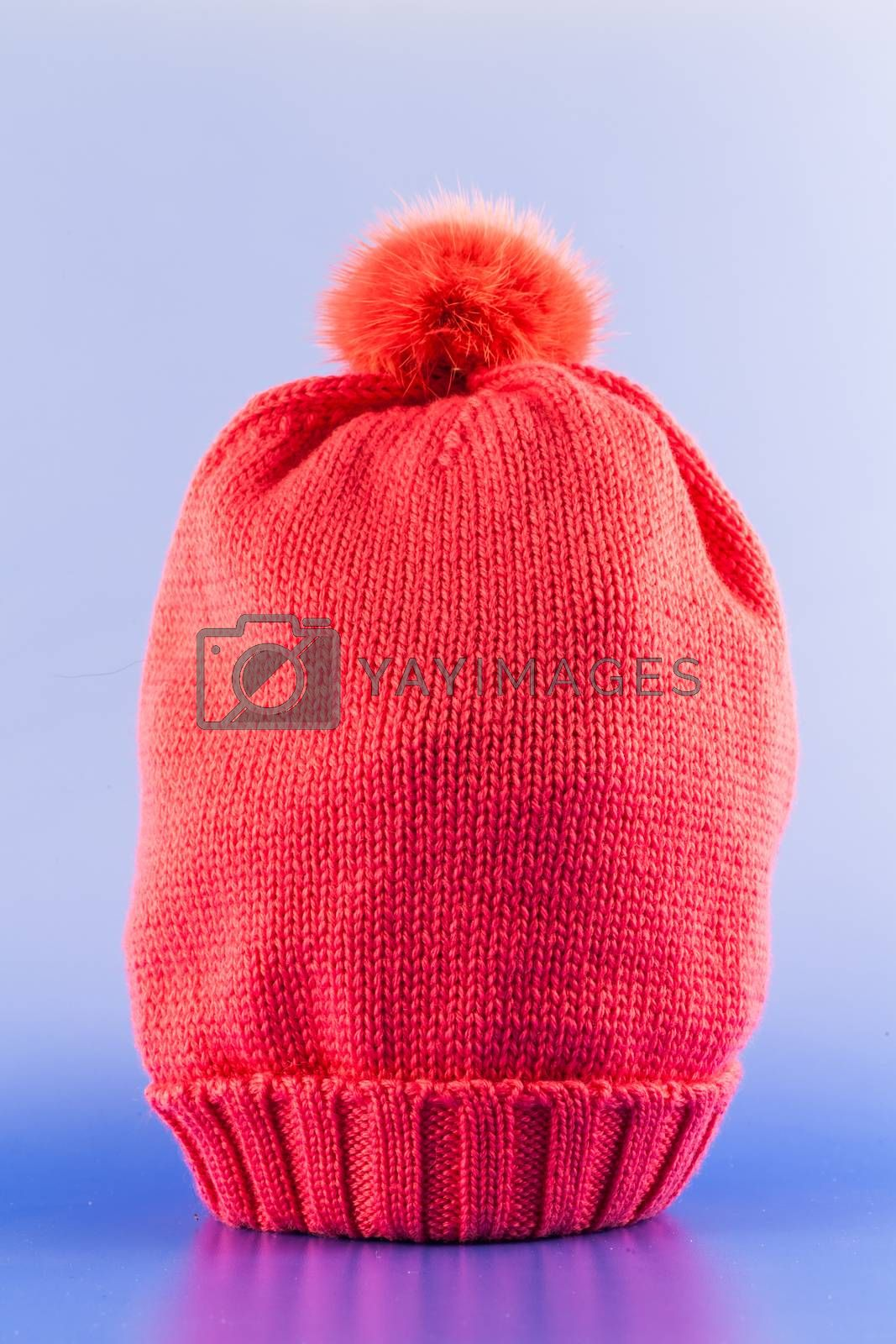 Royalty free image of Handmade Wool Hat by Perseomedusa