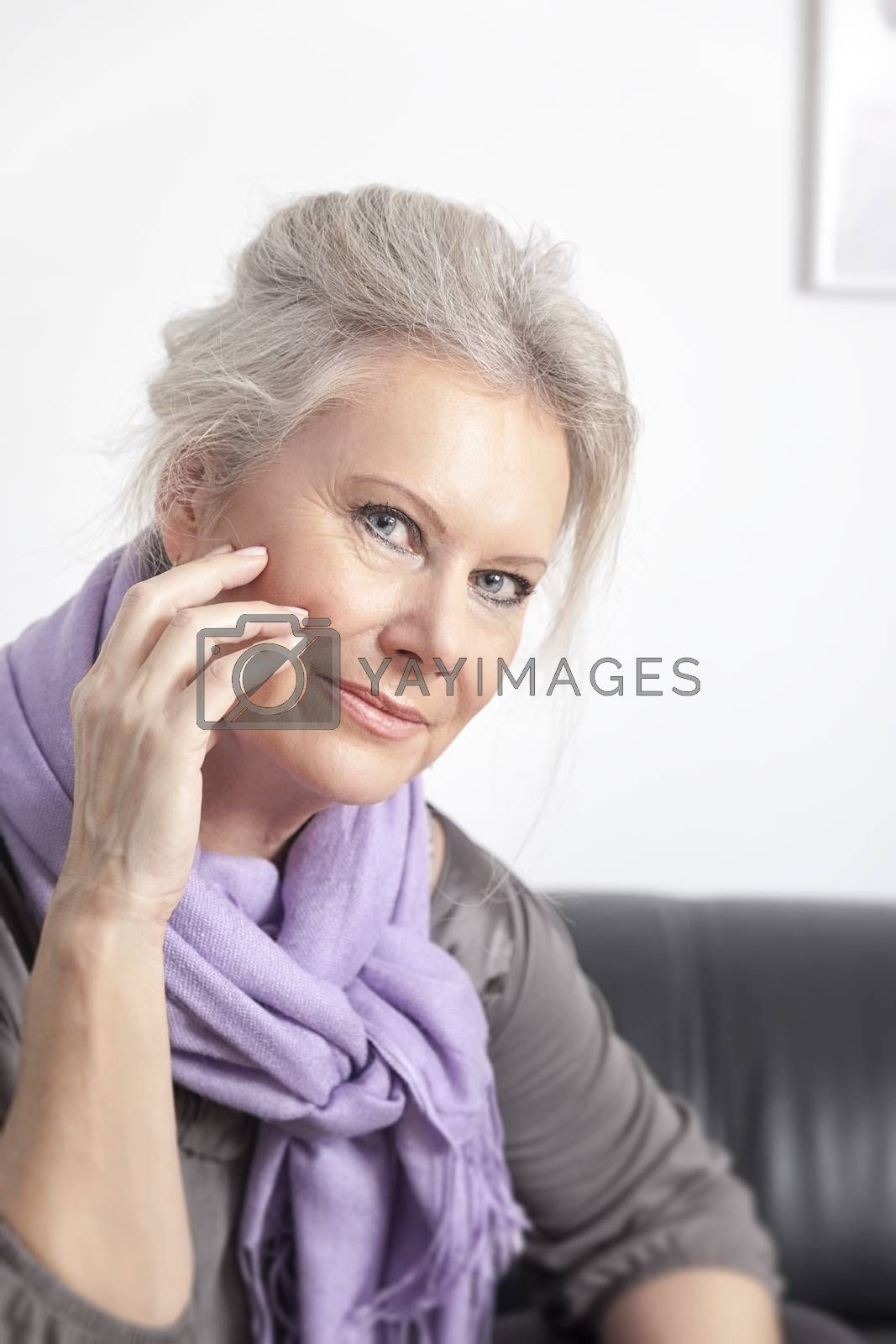Royalty free image of best age woman by magann