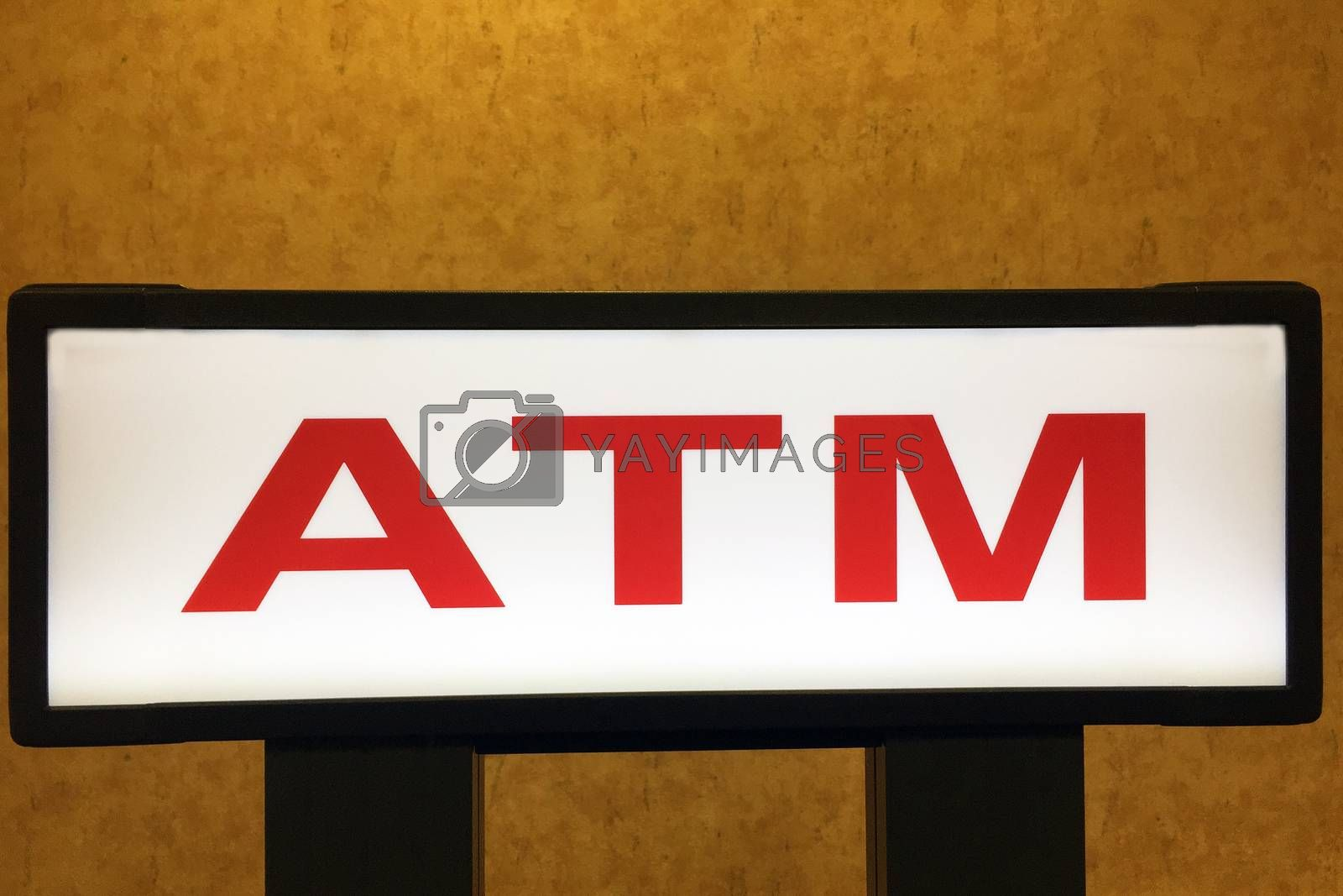 Royalty free image of ATM sign by jimmartin