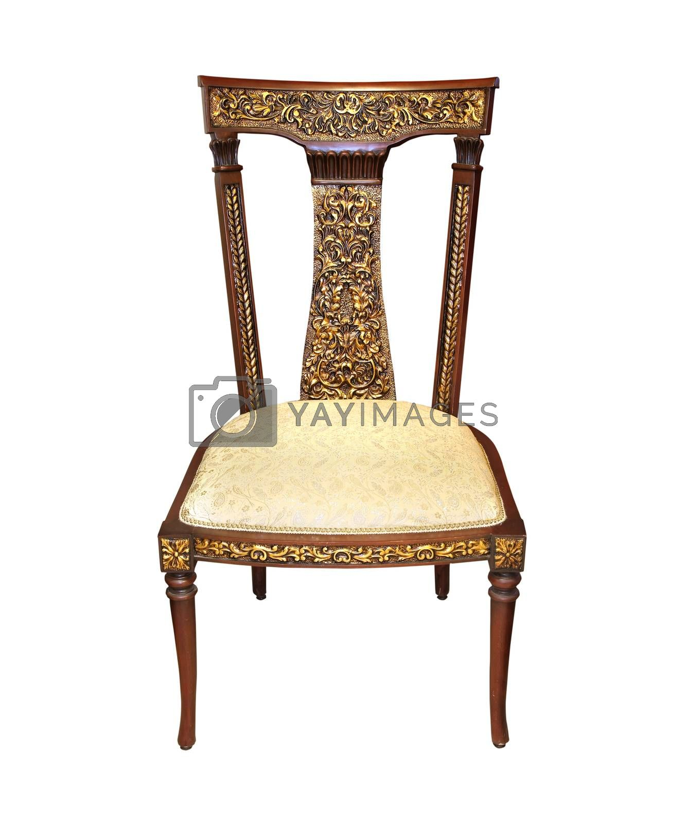 Royalty free image of Vintage chair by Baloncici