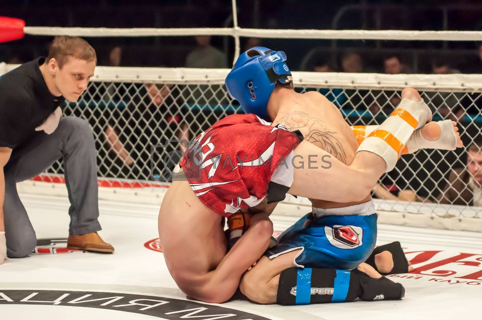 Royalty free image of Match two MMA fighters by 0608195706081957