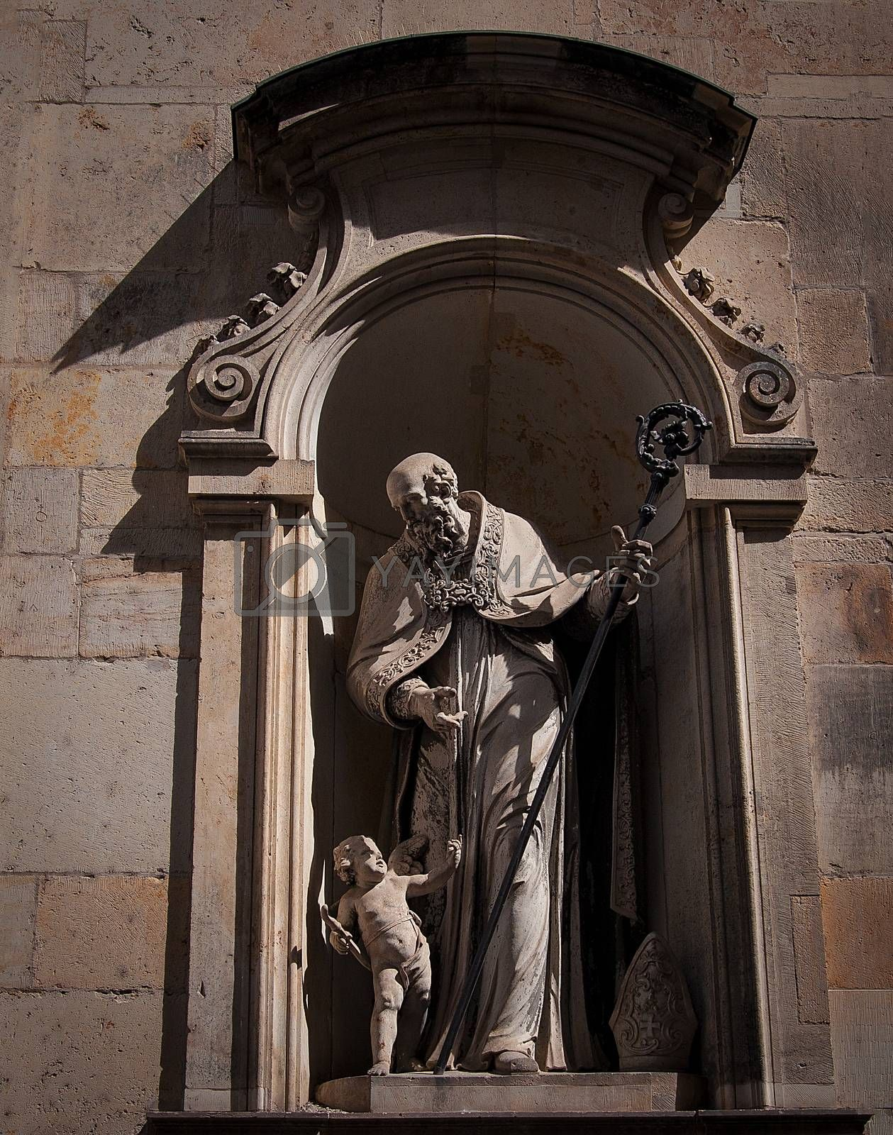 Royalty free image of Dresden, Germany, Statue in Zwinger. by sfinks