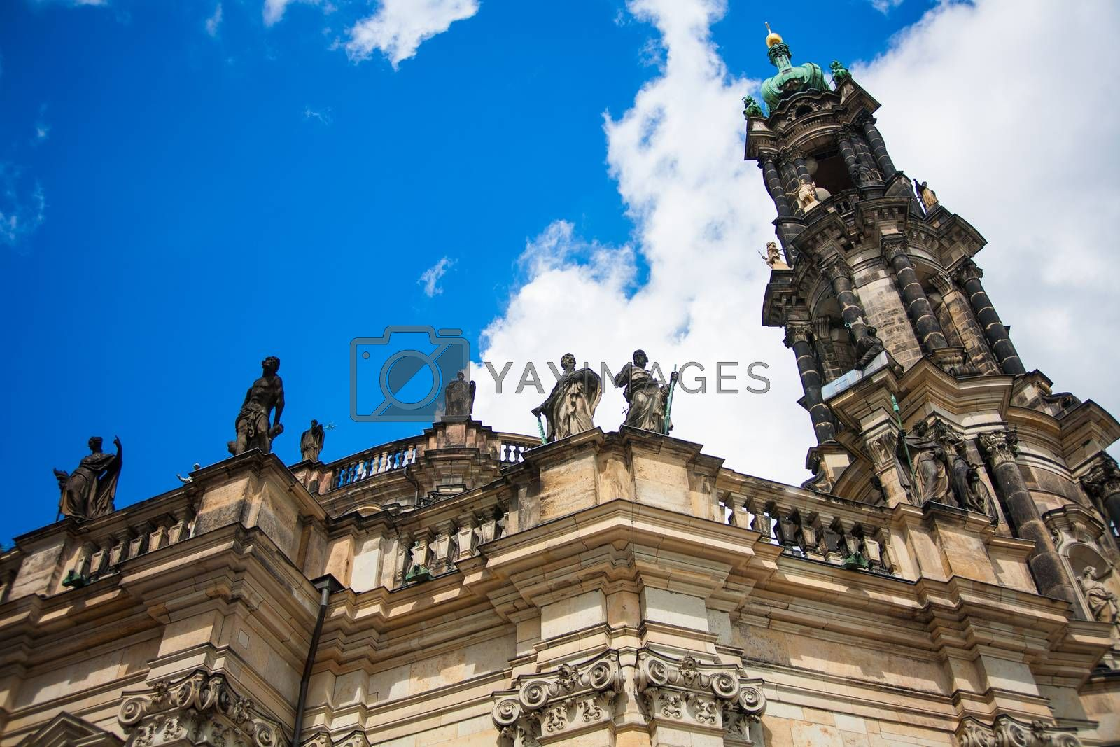 Royalty free image of Dresden Historical and cultural center Europe. by sfinks