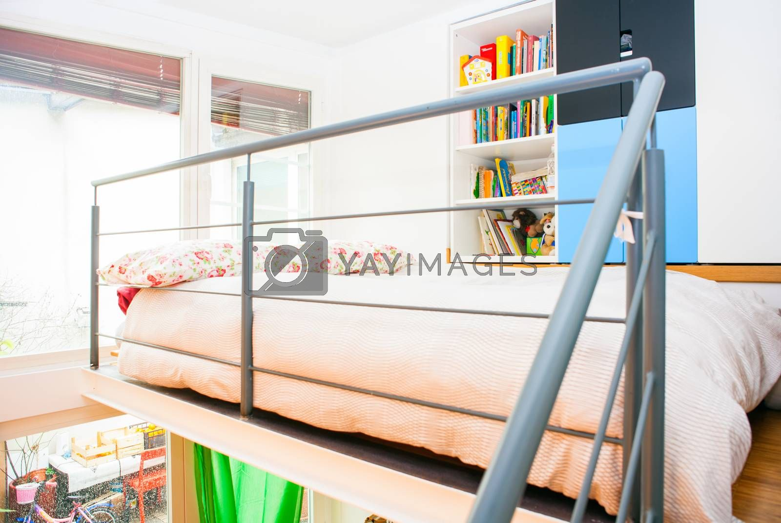 View of bed room in the apartment