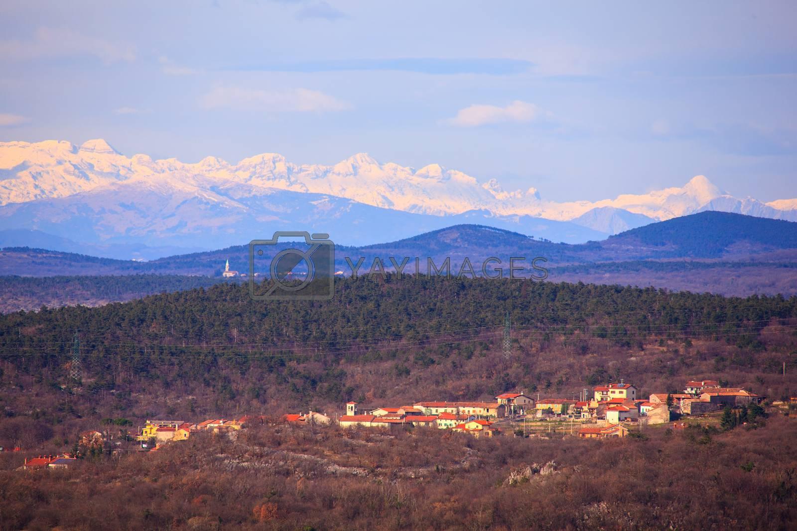 Italian landscape by bepsimage