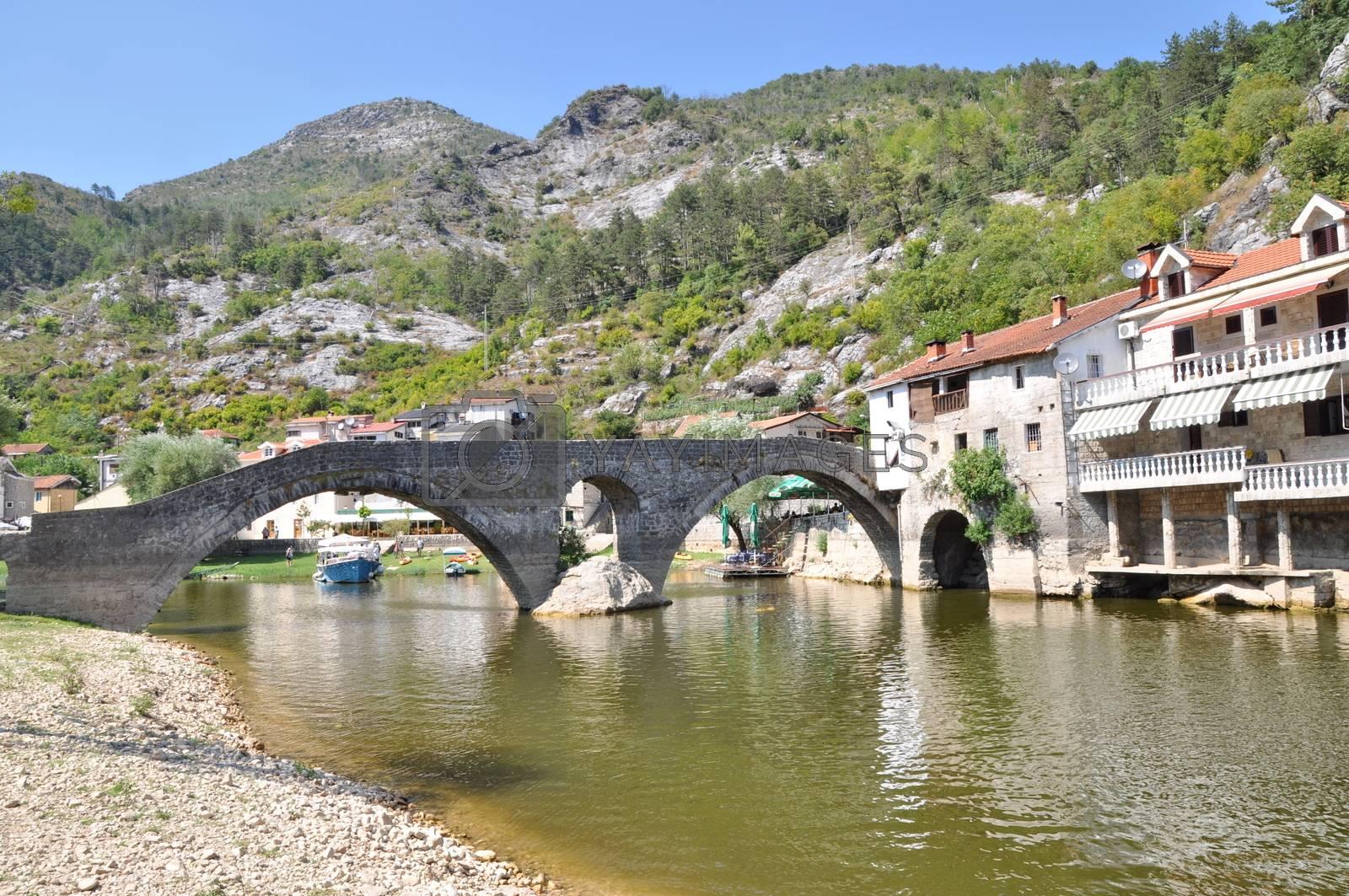 Rijeka Crnojevica in Monte Negro