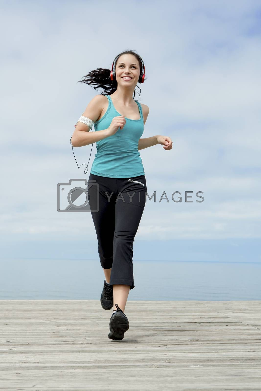 jogging by Iko