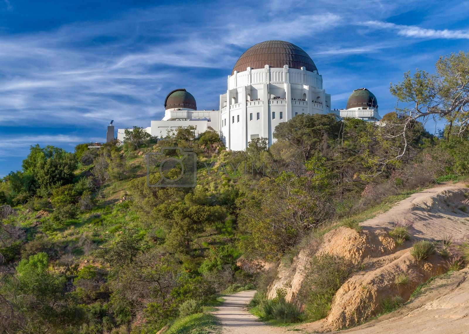 Historic Griffith Observatory by wolterk