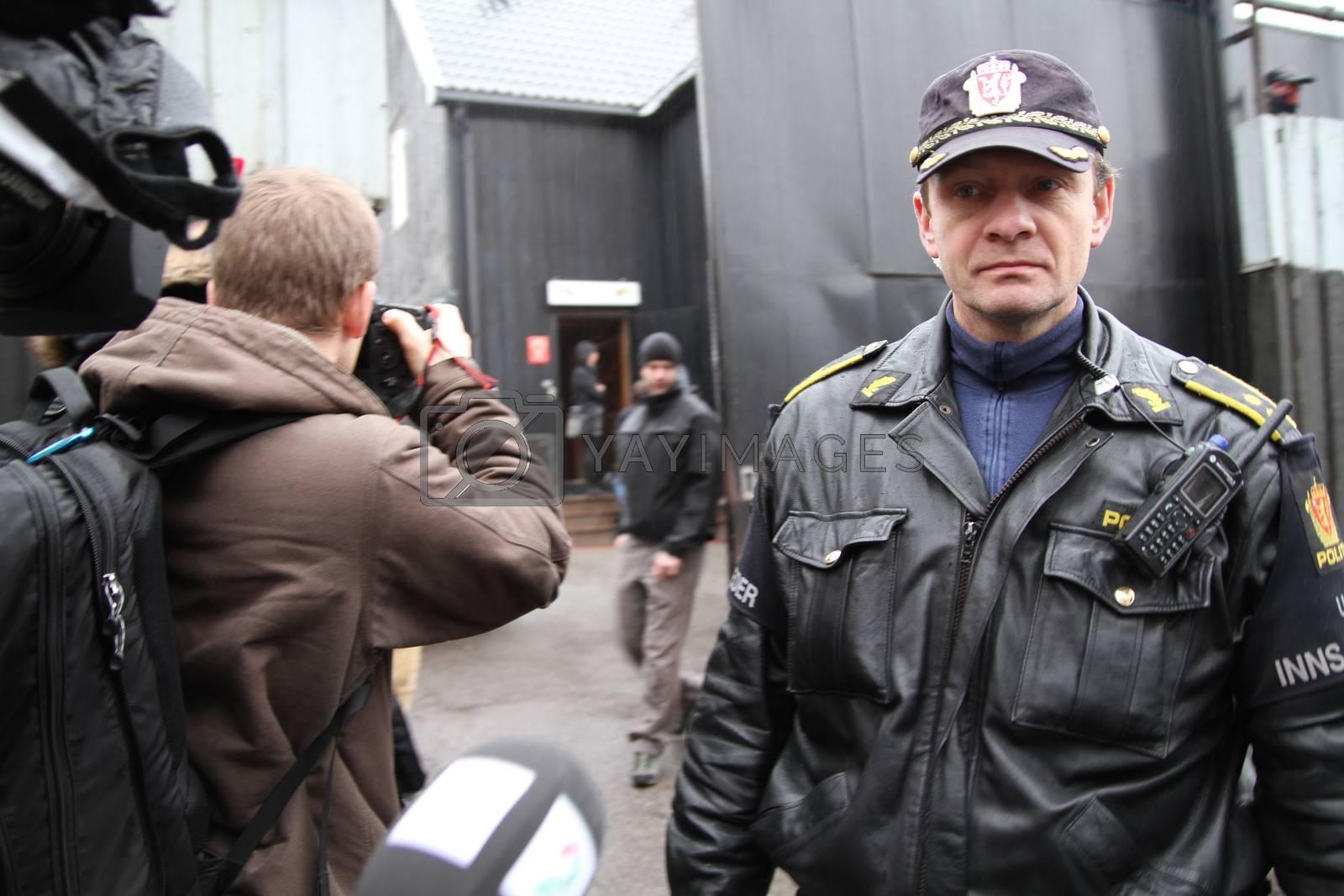 Tore Barstad, innsatsleder i Oslo politidistrikt by camilla.svendsen@nettavisen.no