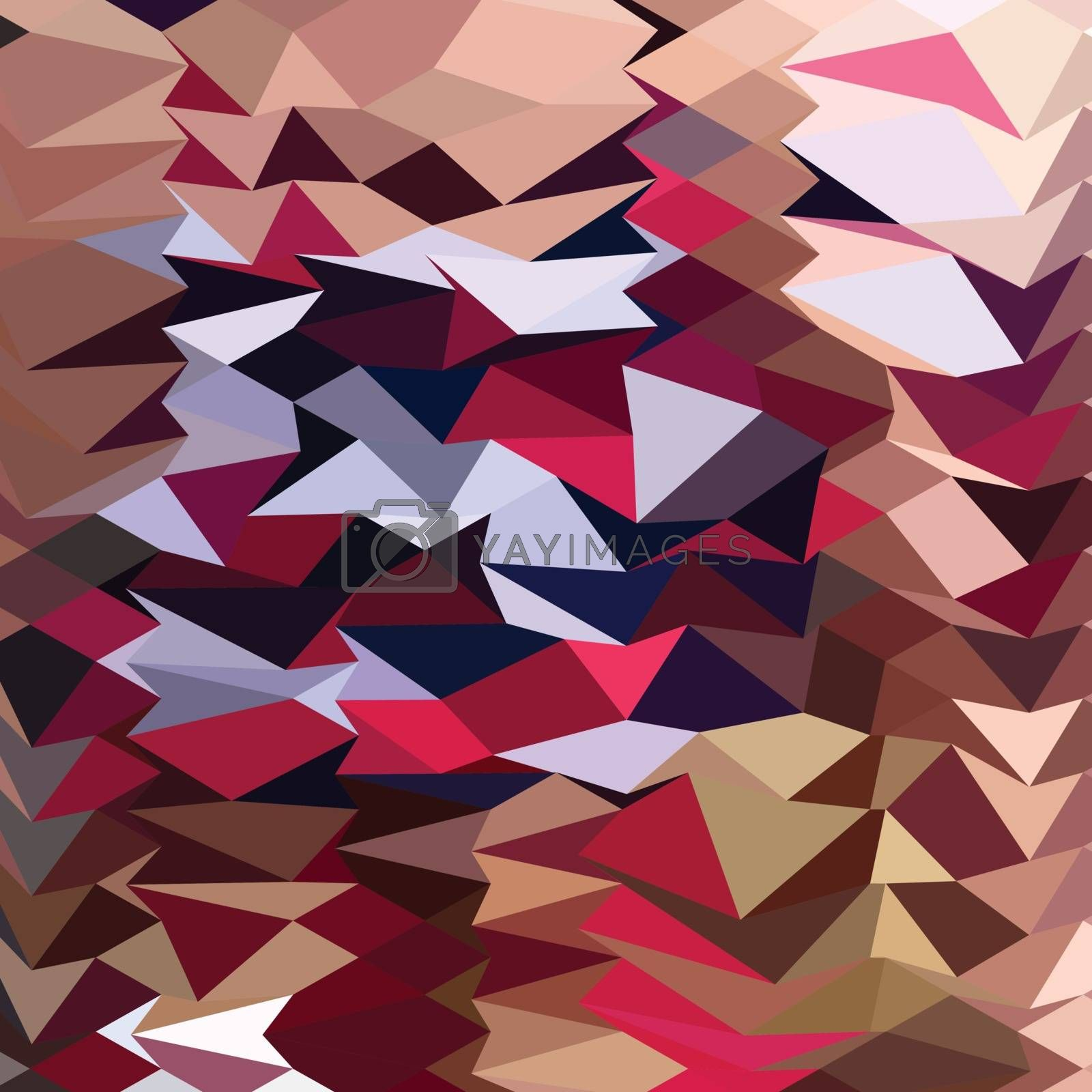 Low polygon style illustration of alabaster abstract background.