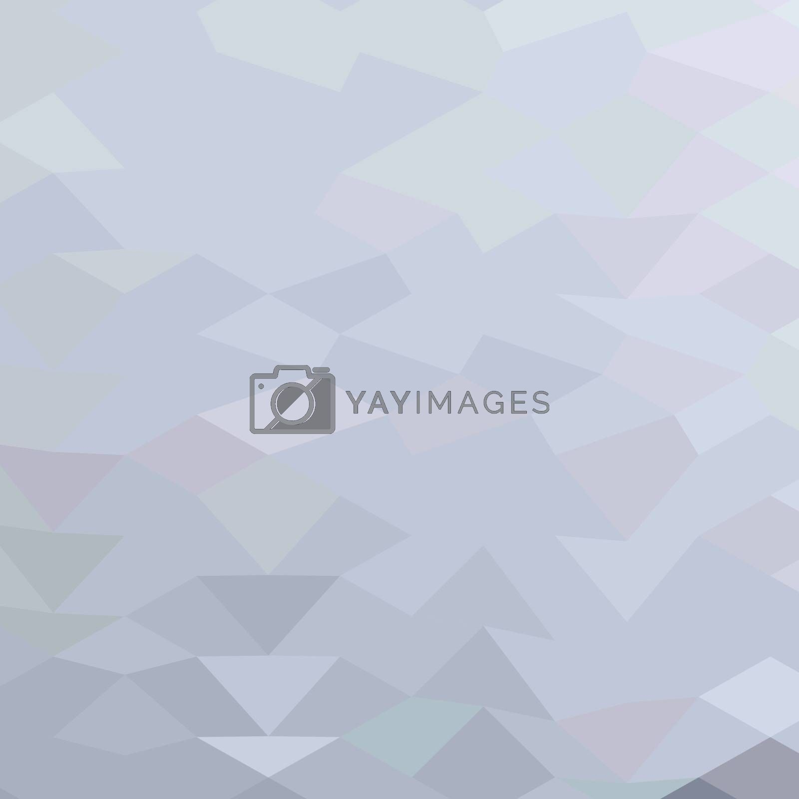 Low polygon style illustration of a grey abstract background.