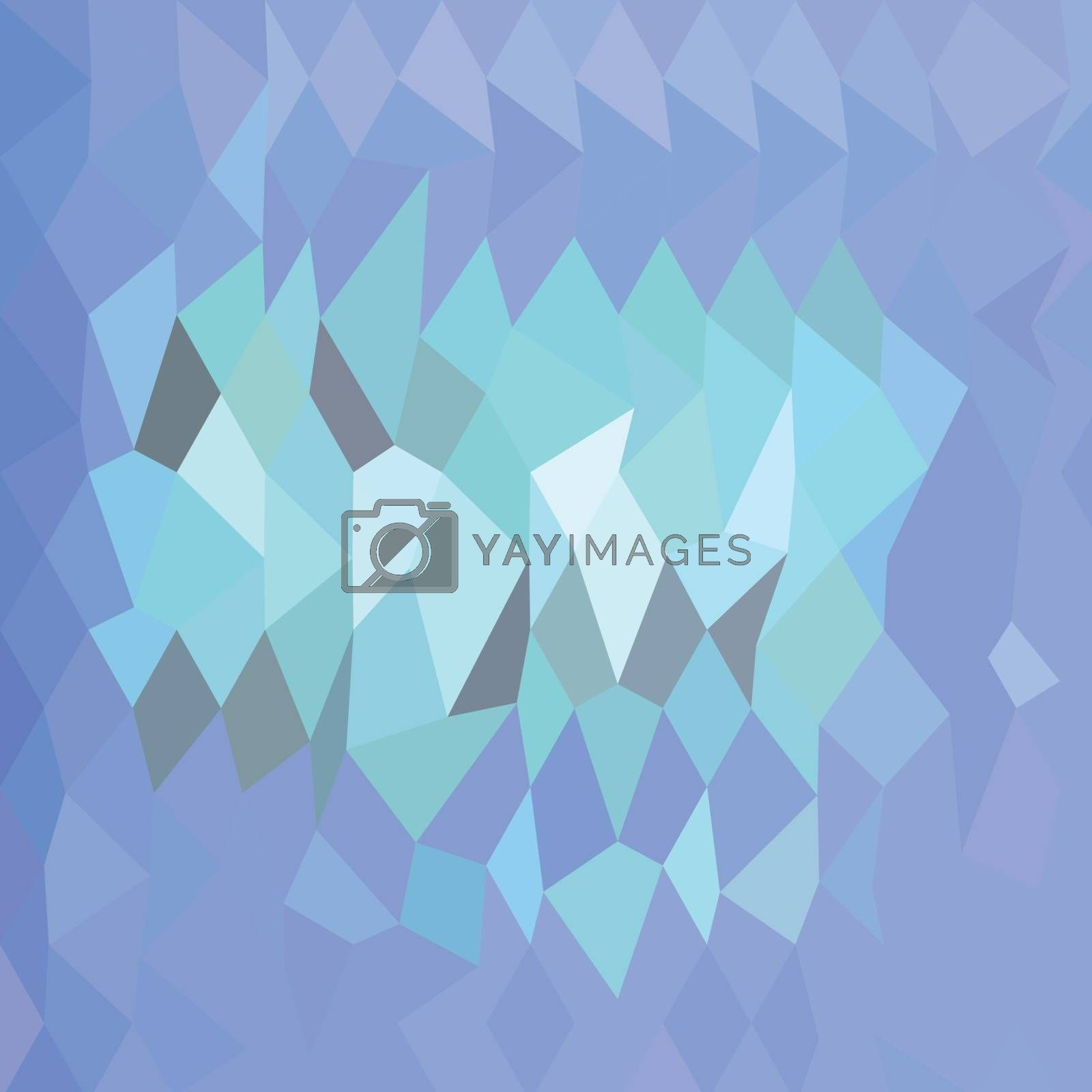 Low polygon style illustration of lavender abstract background.