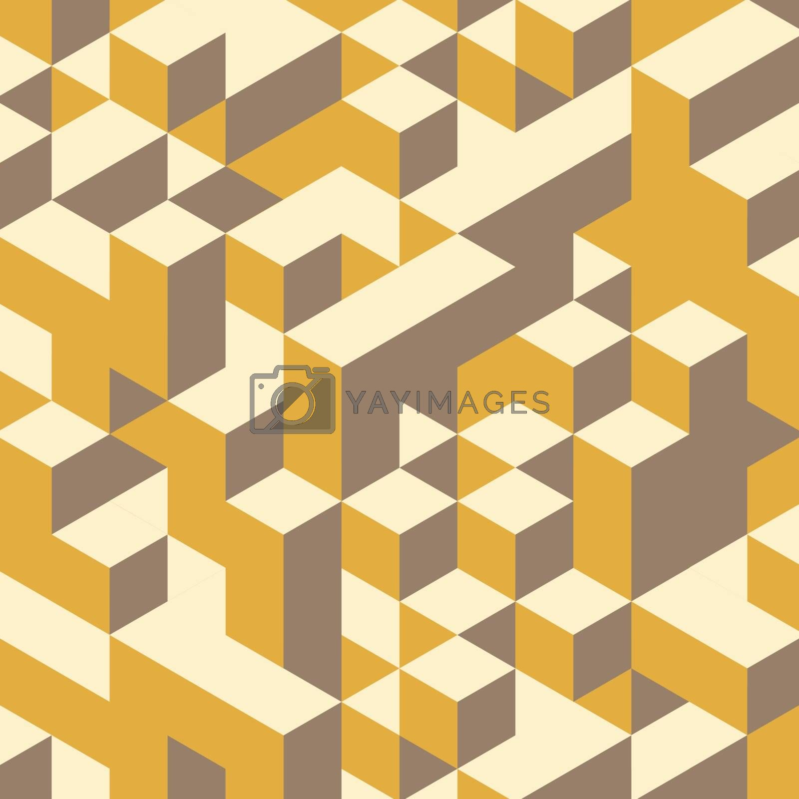Abstract geometrical 3d colorful background. Can be used for wallpaper, web page background. Vector eps 10.