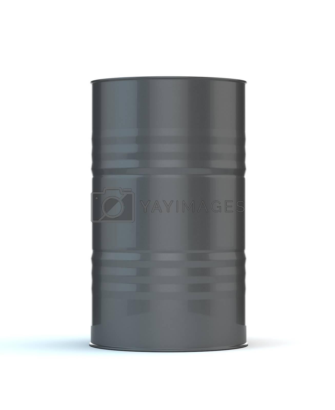 Single Gray Barrel