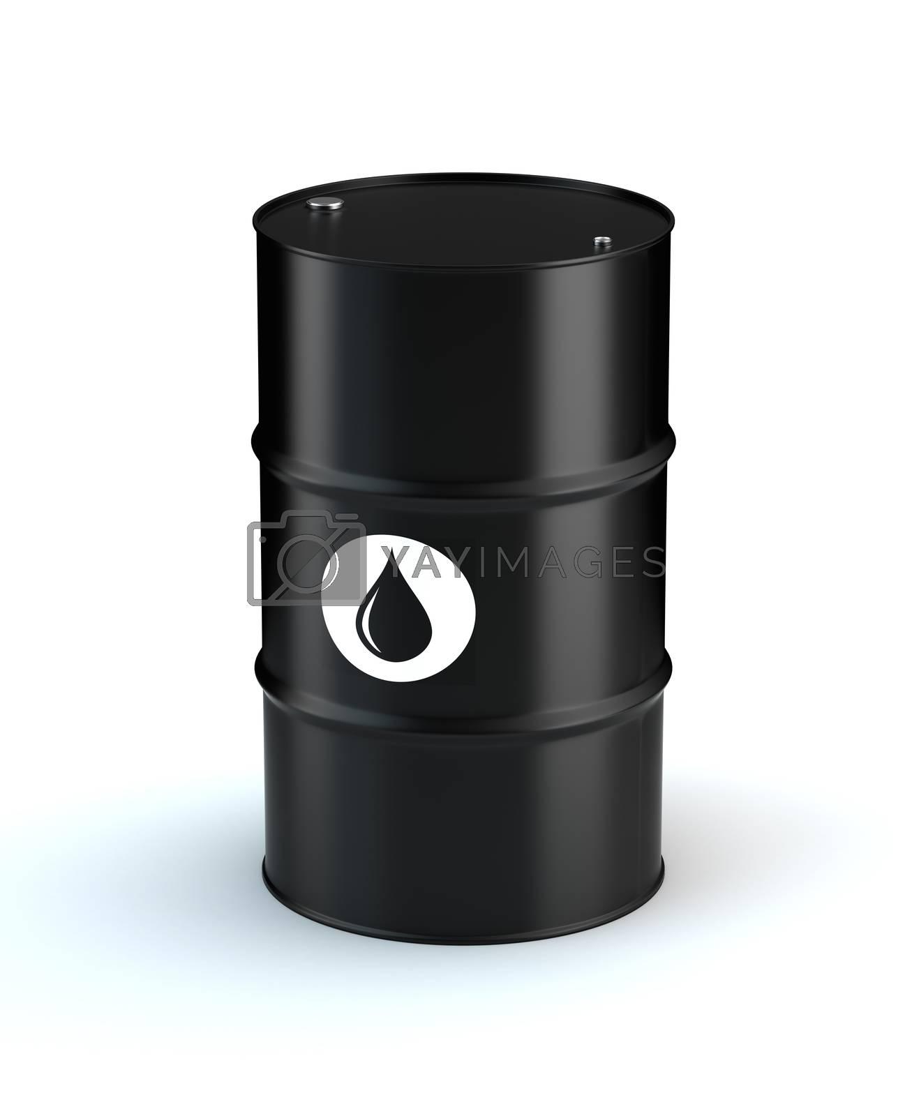 Single Oil Barrel