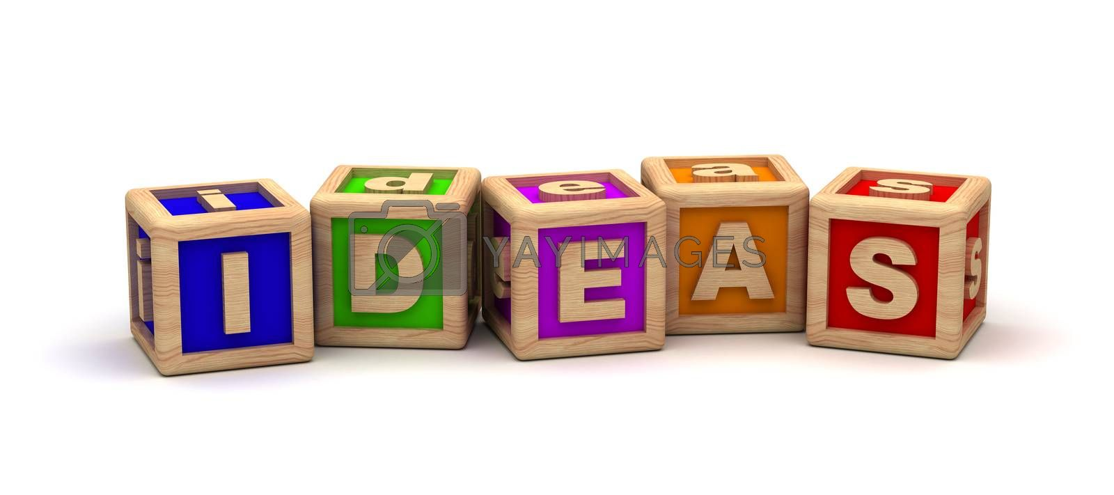 Ideas Text Cube
