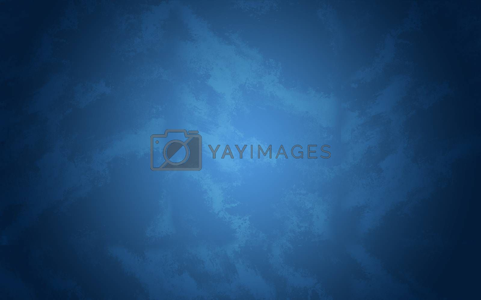 Abstract texture of blue painted concrete wall
