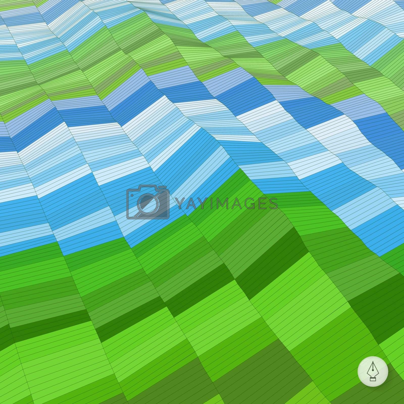 Abstract background. Mosaic. Vector illustration. Can be used for wallpaper, web page background, web banners.