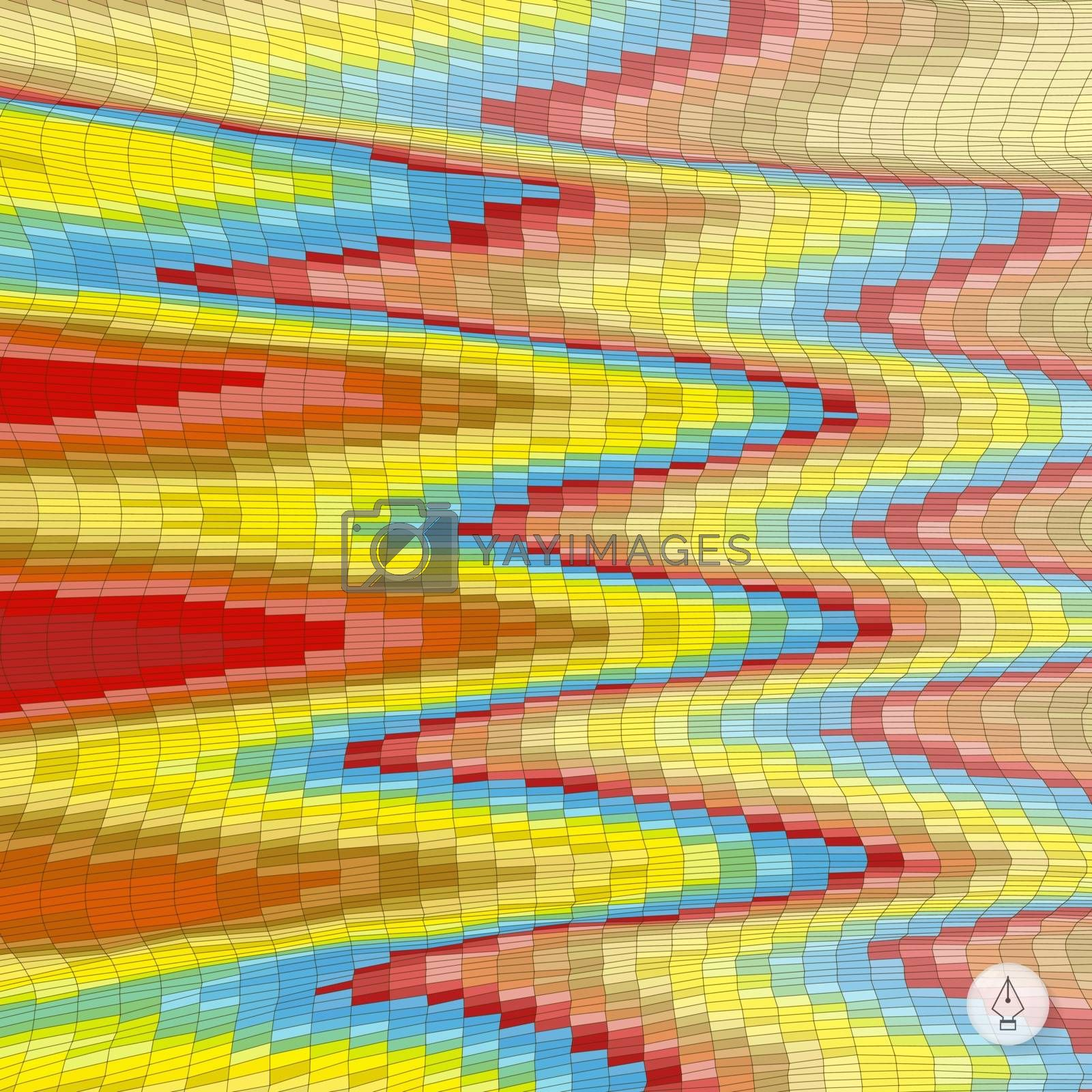 Abstract colorful background. Mosaic. Vector illustration. Can be used for wallpaper, web page background, web banners.