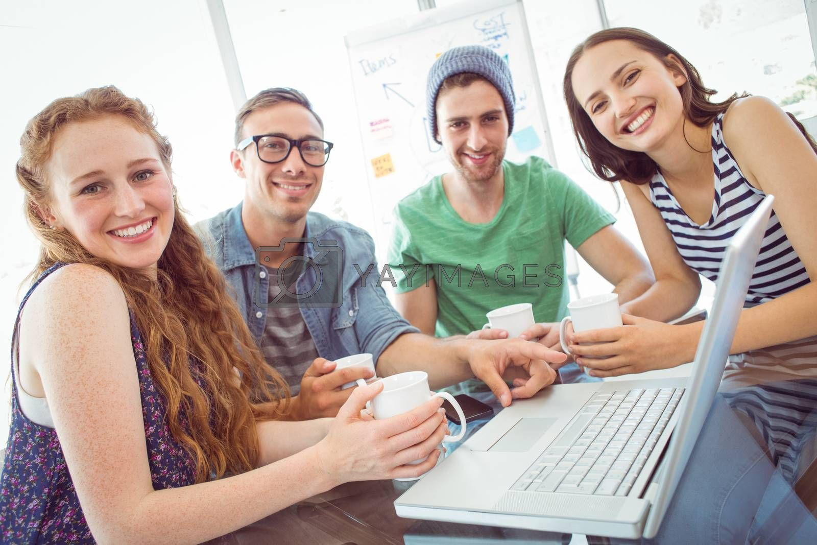 Fashion students working as a team  by Wavebreakmedia