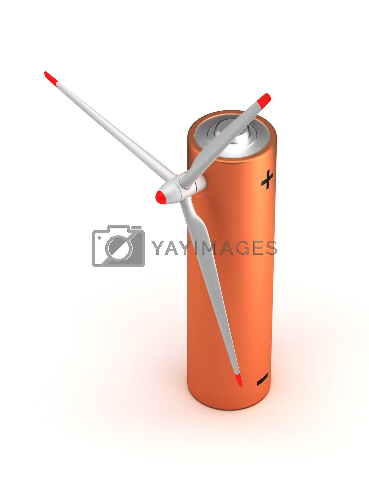 Wind Turbine Battery