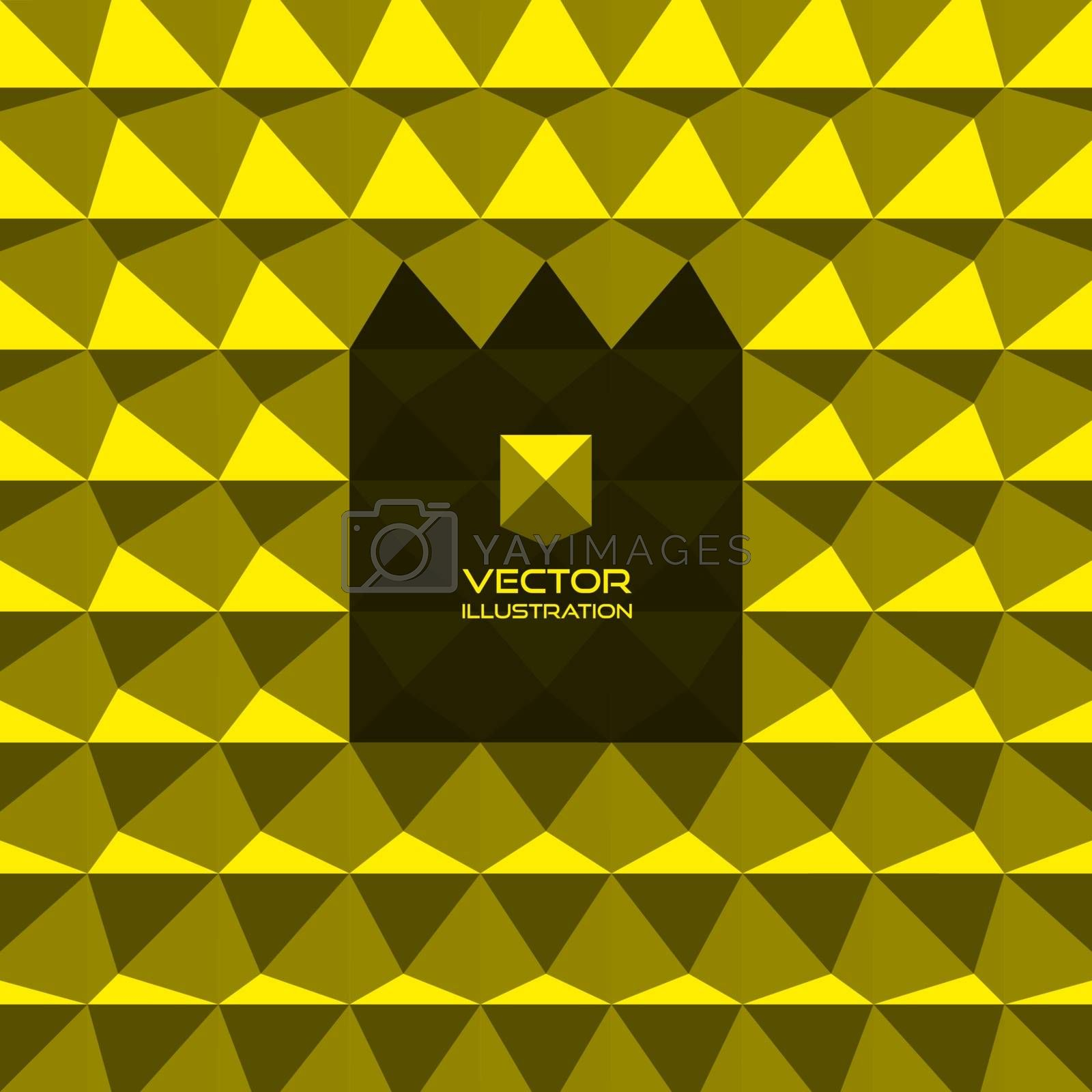Abstract 3d geometric background. 3D vector interior wall panel pattern.  With place for text. Can be used for wallpaper, web banner or design element.