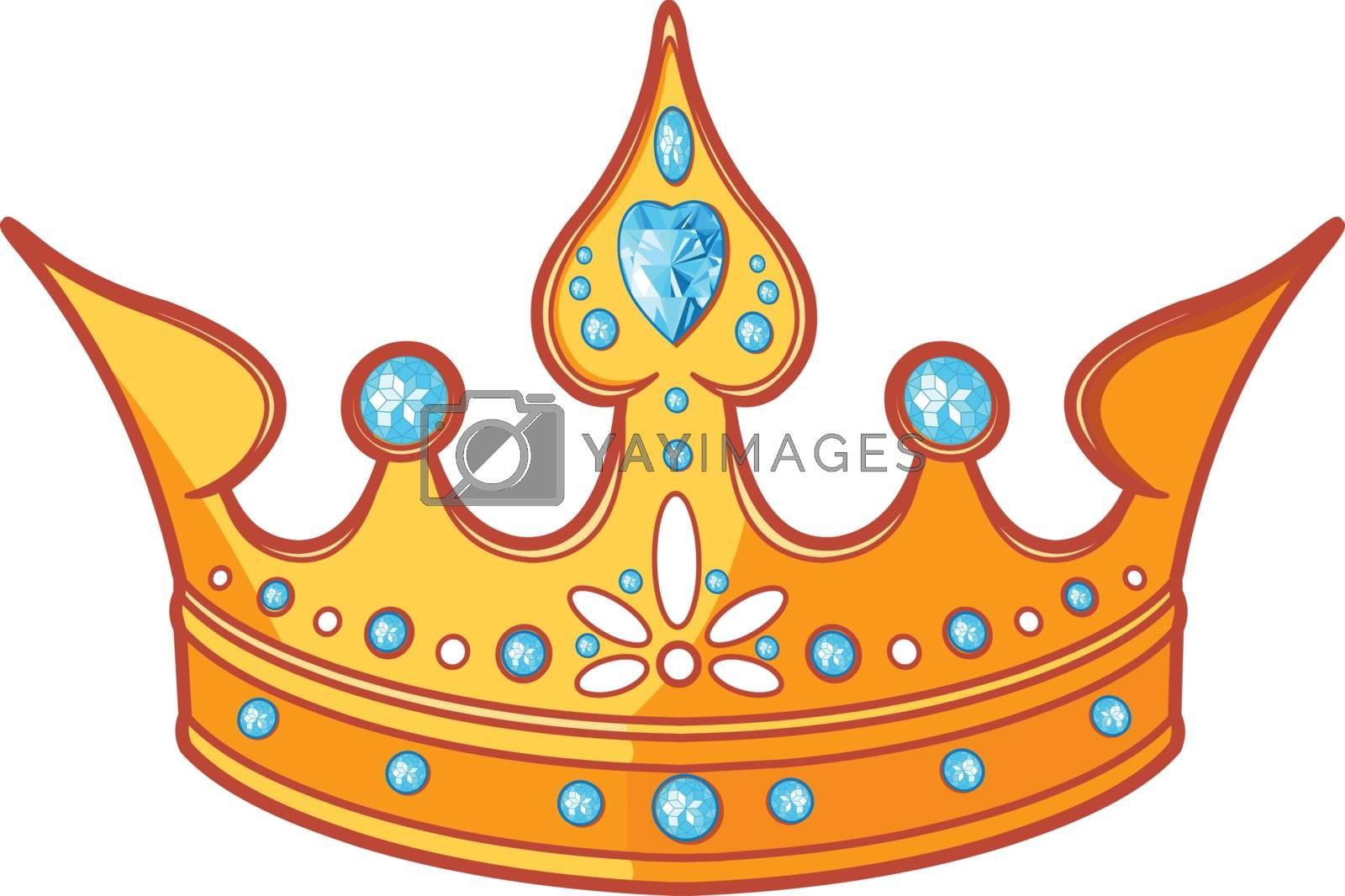 Royalty free image of Princess tiara by Dazdraperma