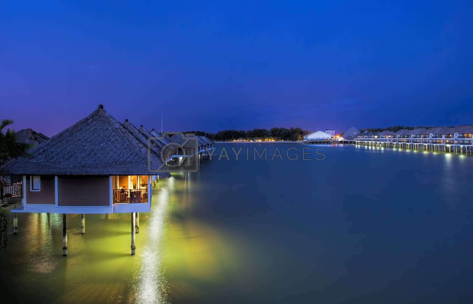 Water villas by kjorgen