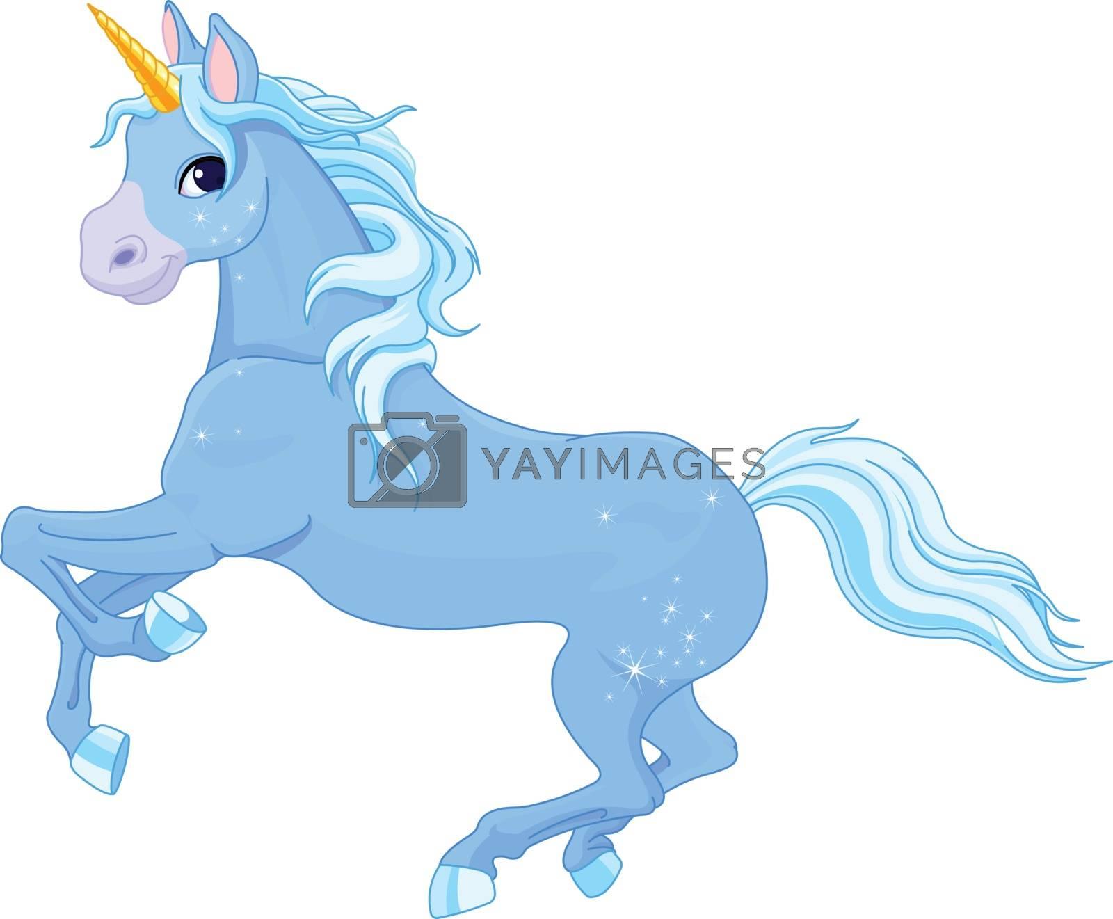 Royalty free image of Fairy unicorn by Dazdraperma