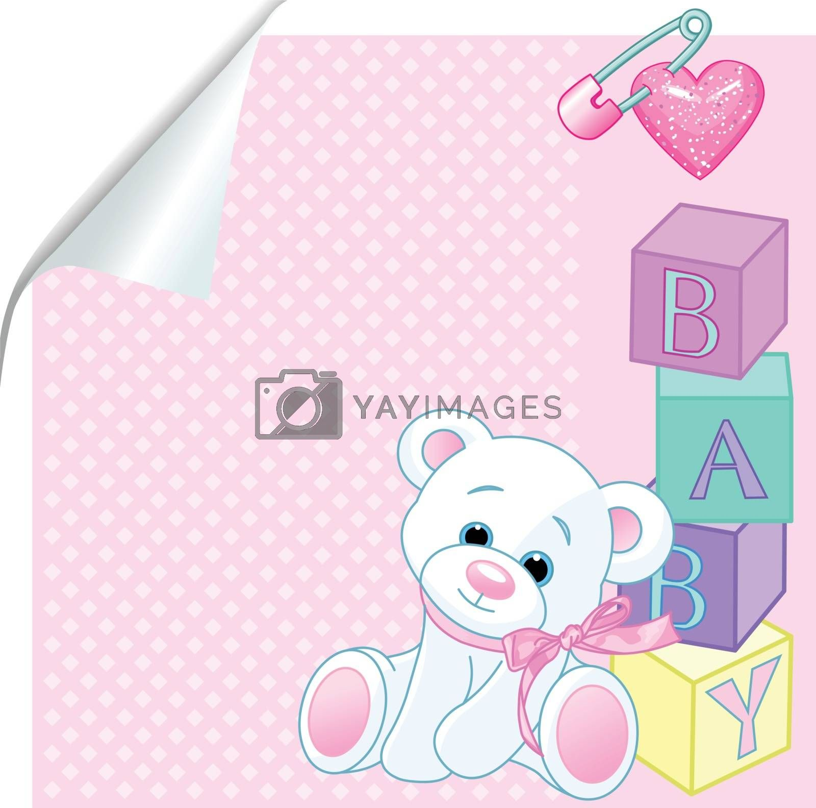Royalty free image of Baby pink by Dazdraperma
