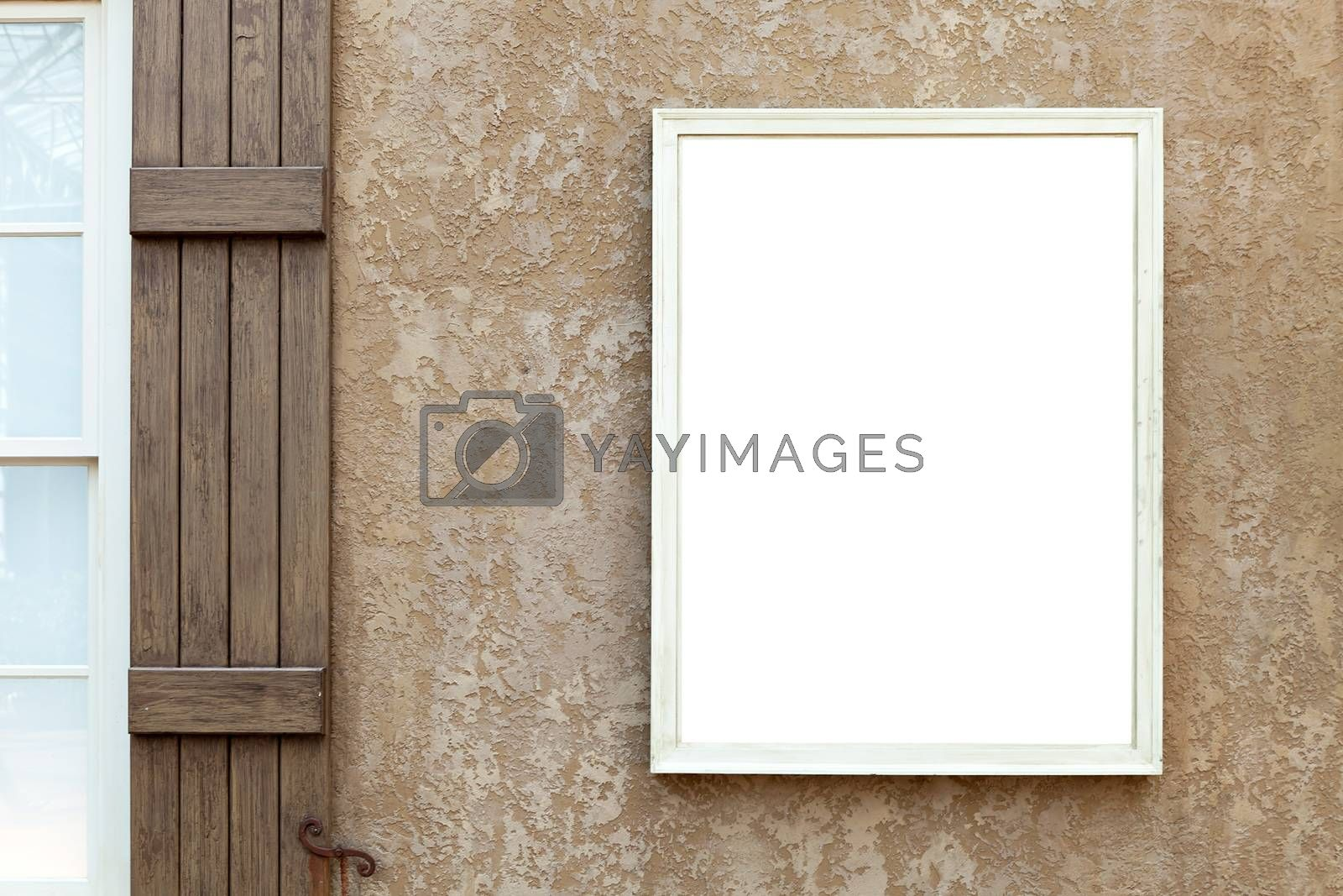 Blank Wall Sign with Copy Space by graficallyminded