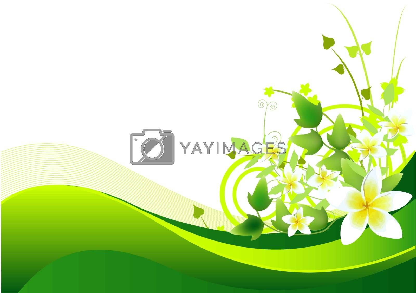 Royalty free image of Spring/summer background by Dazdraperma