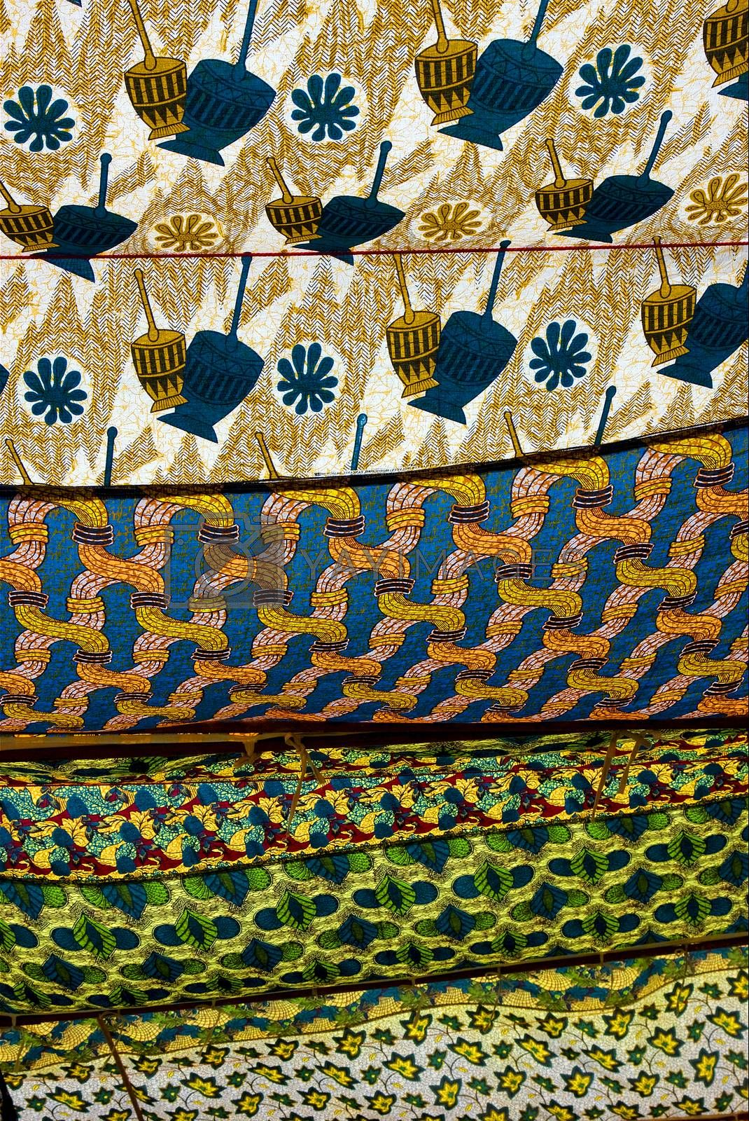 a cotton texture in zanzibar