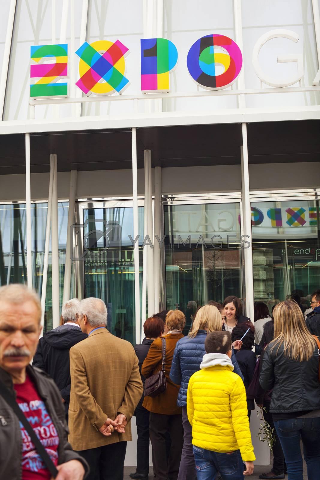 Milan Expo by bepsimage