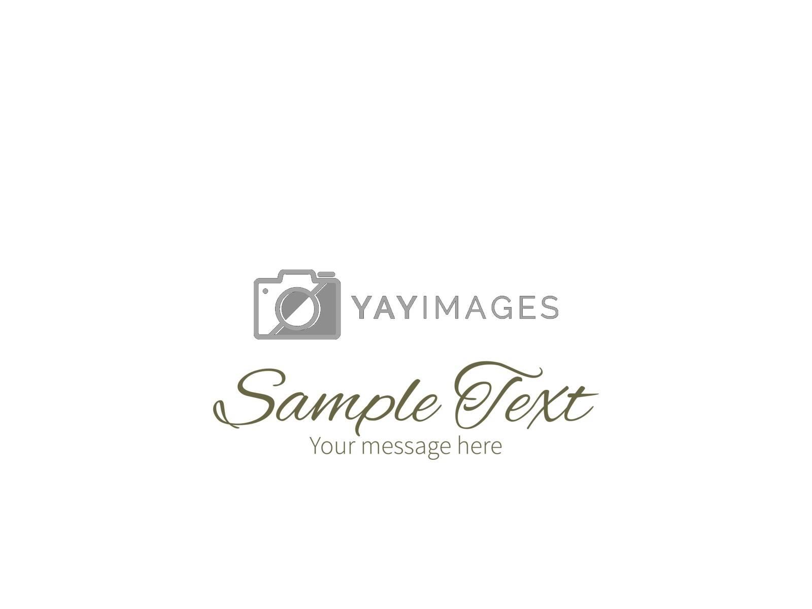 Vector abstract gray and green polka dot backgr horizontal border greeting card invitation template graphic design