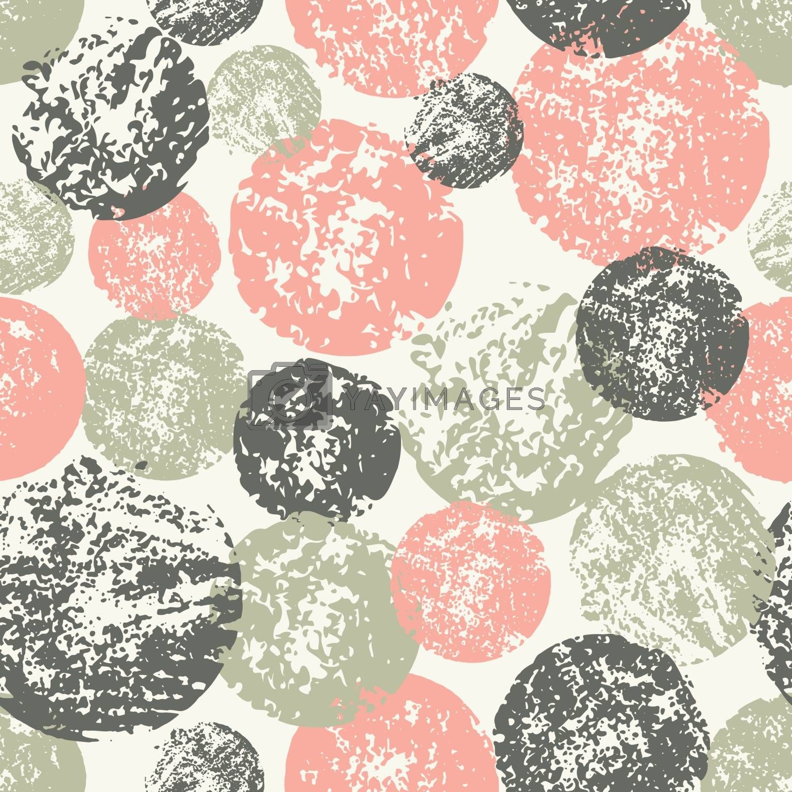 Abstract Round Shapes Seamless Pattern by ivaleksa