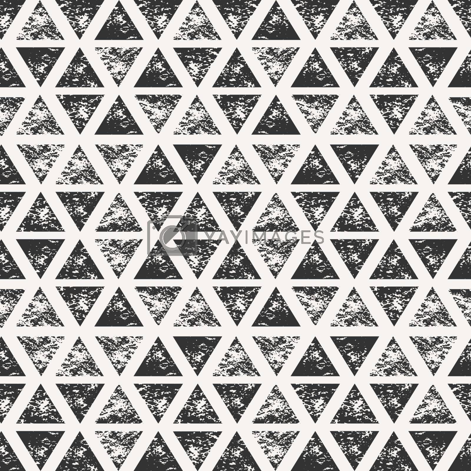 Abstract Triangular Shapes Seamless Pattern by ivaleksa