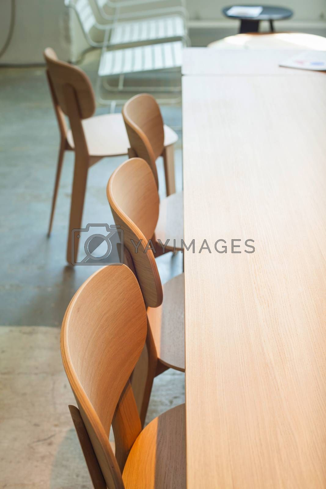 Chairs and table by bepsimage