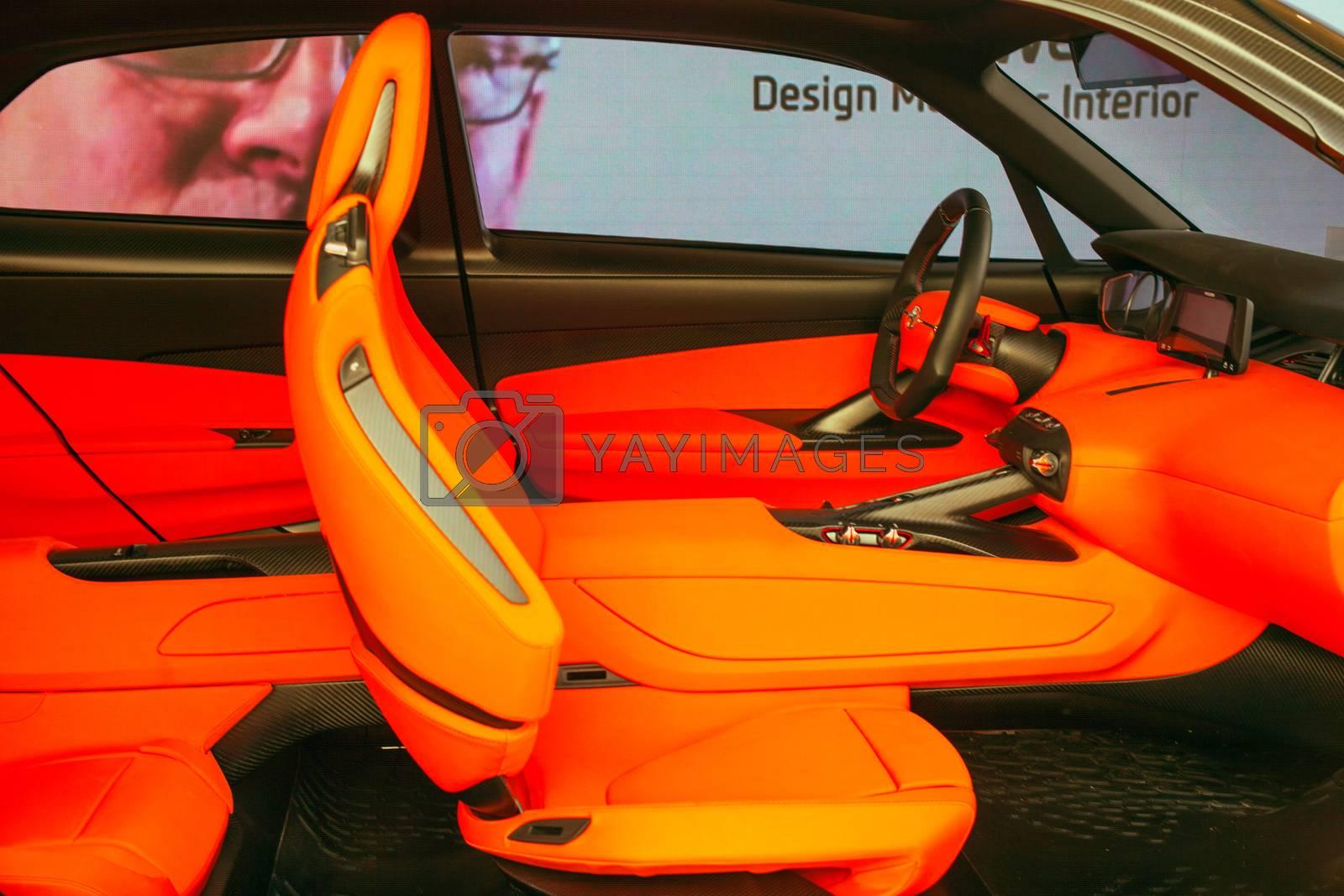 Car Interior by bepsimage