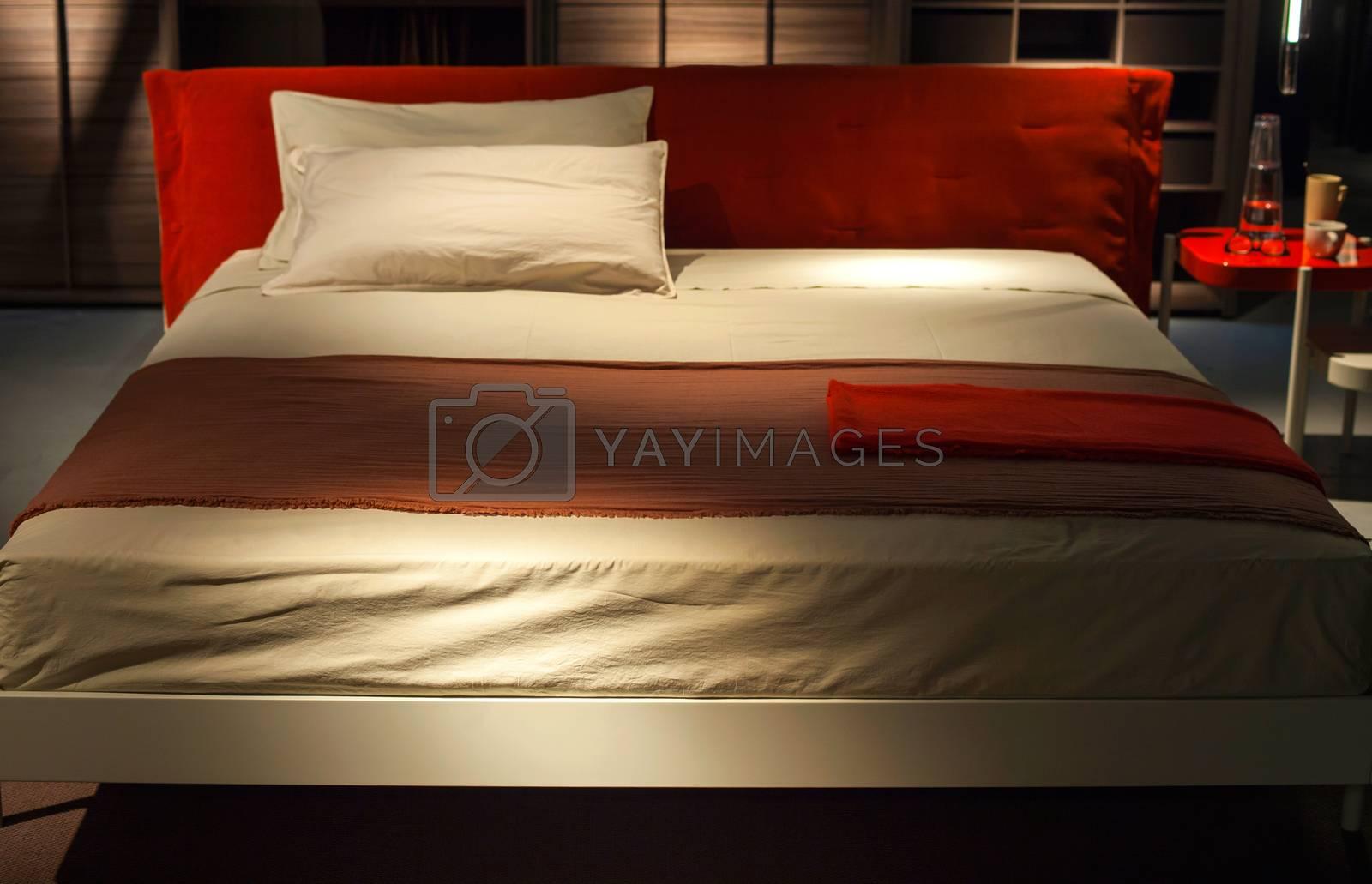 Bed, Ermione - Design by Francesco Bettoni by bepsimage