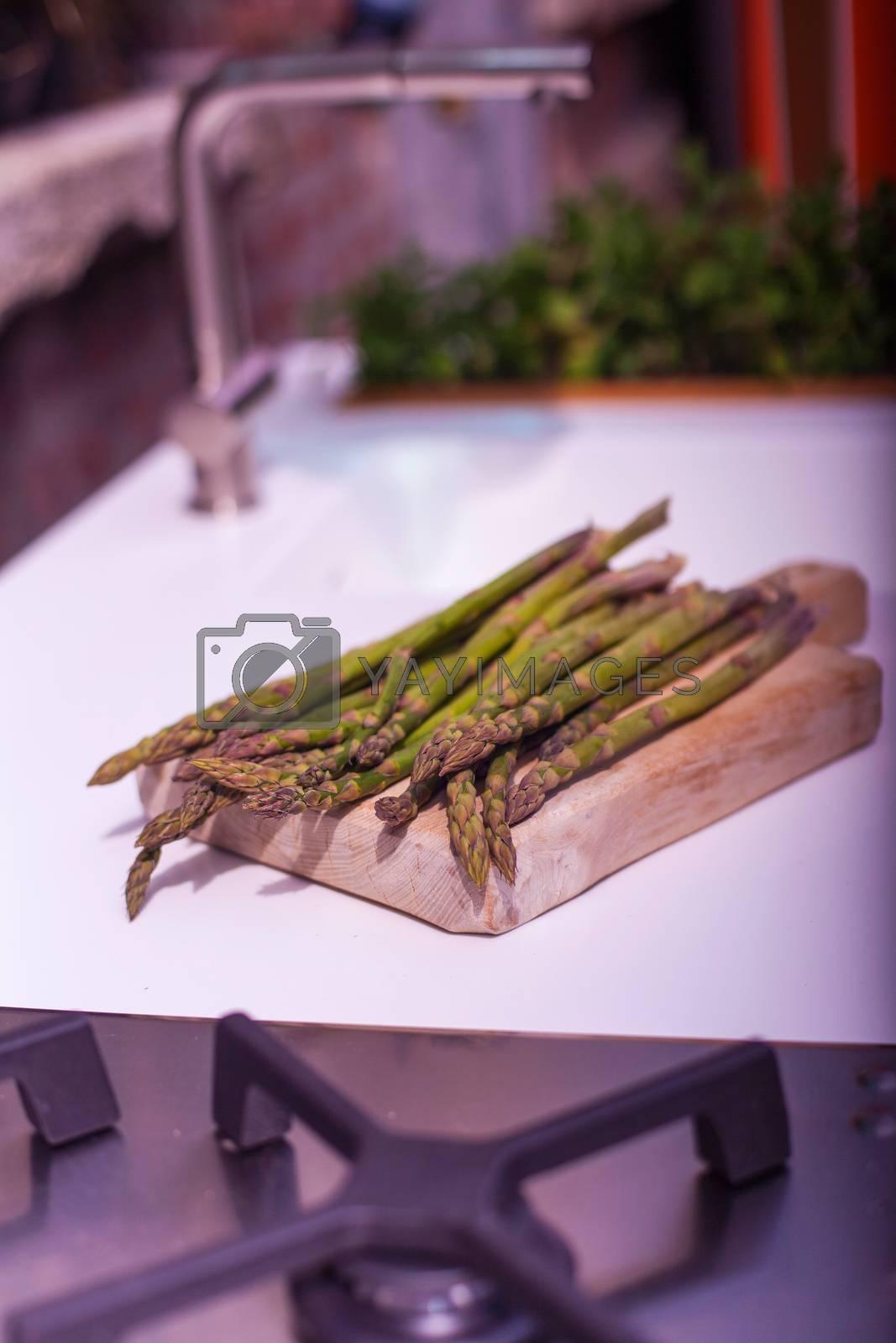Asparagus by bepsimage