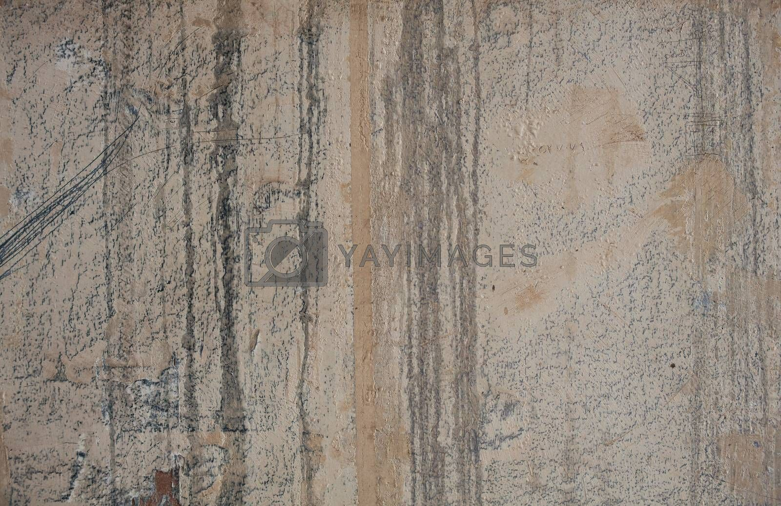 Grunge concrete cement wall by bepsimage