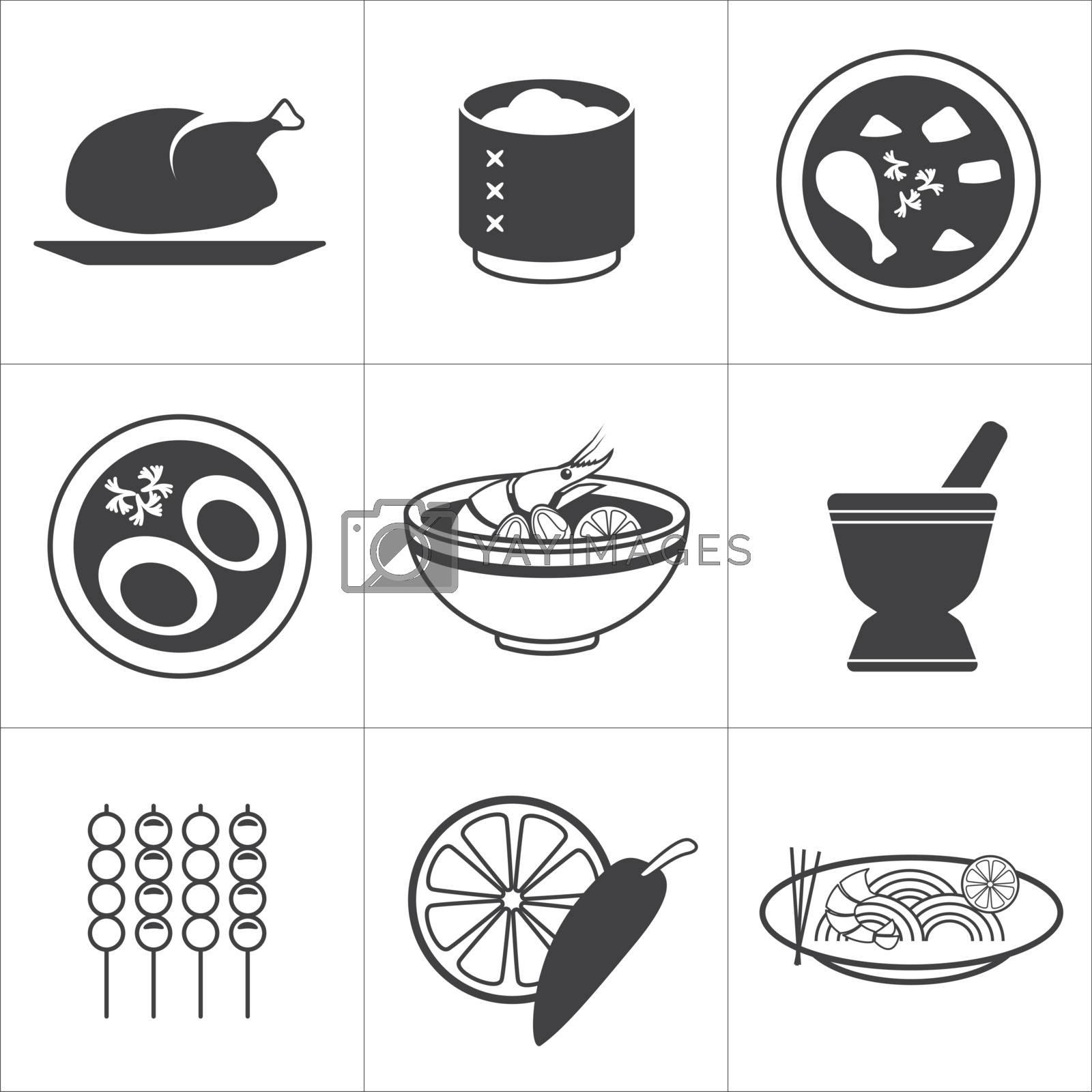 icon thai food