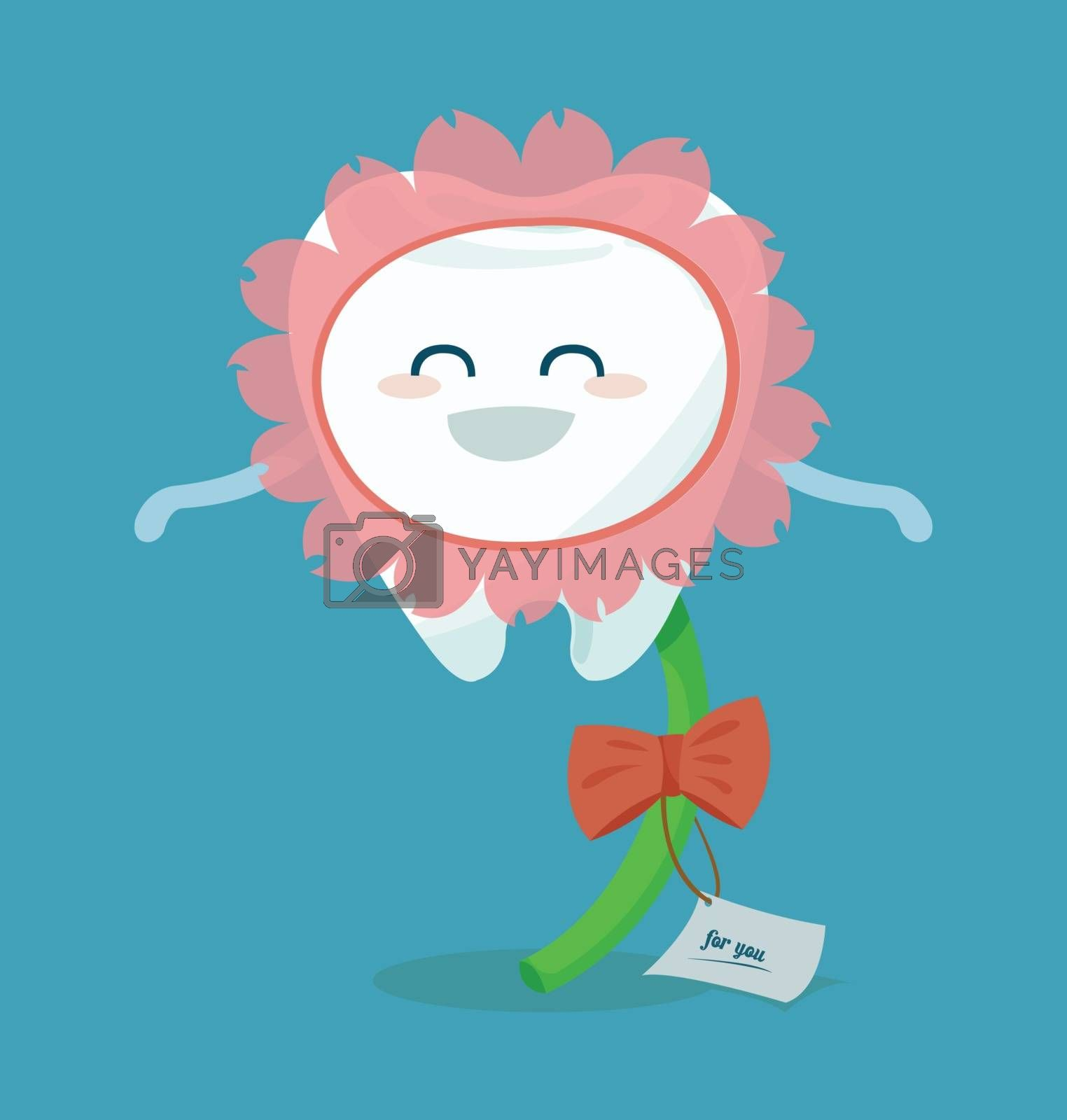 flower of tooth for you